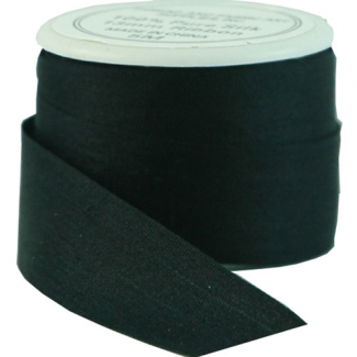 Silk Ribbon 13mm Black (5m spool)