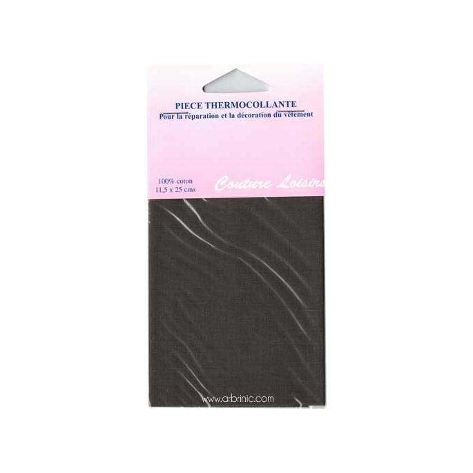 Pièce thermocollante - Percale coton Kaki