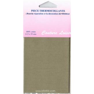 Iron-on mender - Lightweight cotton Beige