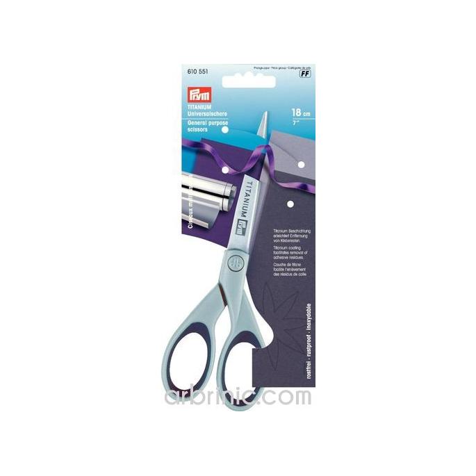 General Purpose Scissors Titanium 18cm PRYM