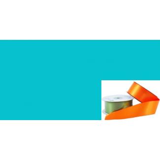 Satin Ribbon 38mm Aqua (20m roll)