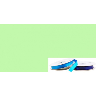 Ruban Satin 13mm Vert Pastel (rouleau 20m)
