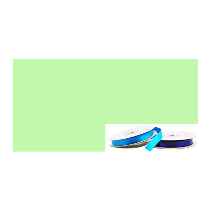 Satin Ribbon 13mm Pastel Green (20m roll)