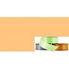 Ruban Satin 25mm Corail (rouleau 20m)