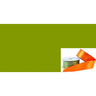 Satin Ribbon 38mm Olive (20m roll)