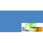 Ruban Satin 25mm Bleu Moyen (rouleau 20m)