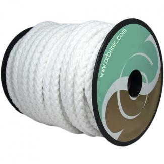 Cordon de Cérémonie blanc 100% coton 10mm (au mètre)