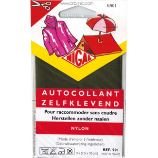 Self-adhesive mender NIGAL Quick - Nylon Kaki