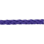 Braided Poly Cord 5mm Purple (by meter)
