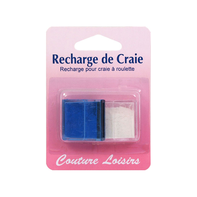 Recharge pour Craie à Roulette Couture&Loisirs (blanc)