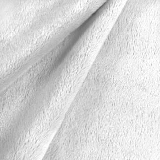 Minky Blanc (au mètre)