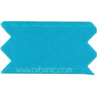 Satin Ribbon double face 25mm Aqua (by meter)
