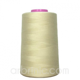 Polyester Serger and sewing Thread Cone (4573m) Champagne