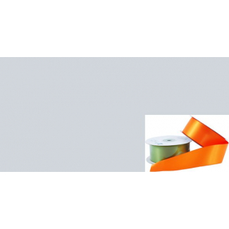 Satin Ribbon 38mm Light Grey (20m roll)