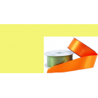 Satin Ribbon 38mm Yellow (20m roll)