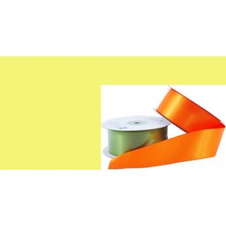 Satin Ribbon 38mm Yellow (20m roll)