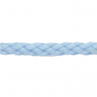 Braided Poly Cord 5mm Light Blue (by meter)