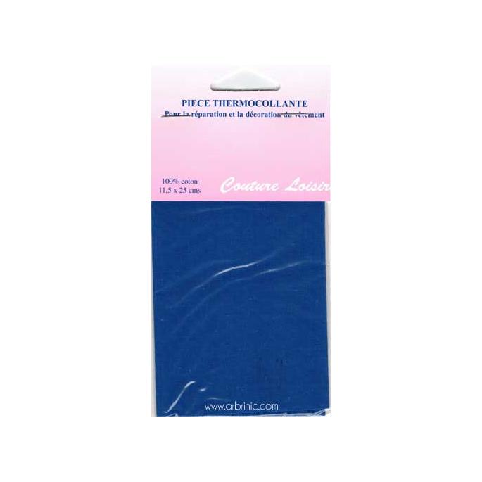 Iron-on mender - Lightweight cotton Saturn Blue