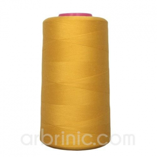 Polyester Serger and sewing Thread Cone (4573m) Gold
