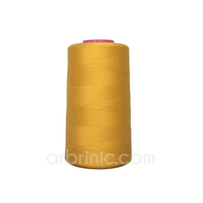 Cône fil polyester Jaune Or (4573m)