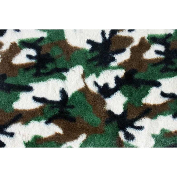 Minky - Camouflage - Robert Kaufman (au mètre)