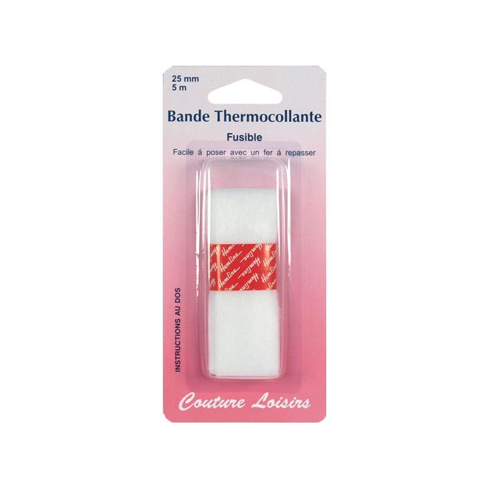 Bande thermocollante pour ourlet - largeur 25mm (5m)