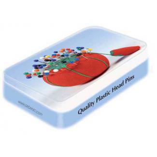 Epingles à Tête Couleur 34mm - boîte déco (x200)