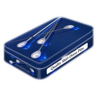 Epingles à Tête Couleur Perle 34mm boîte déco (x200)