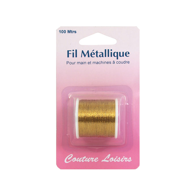 Metallic Sewing Thread Gold (100m)