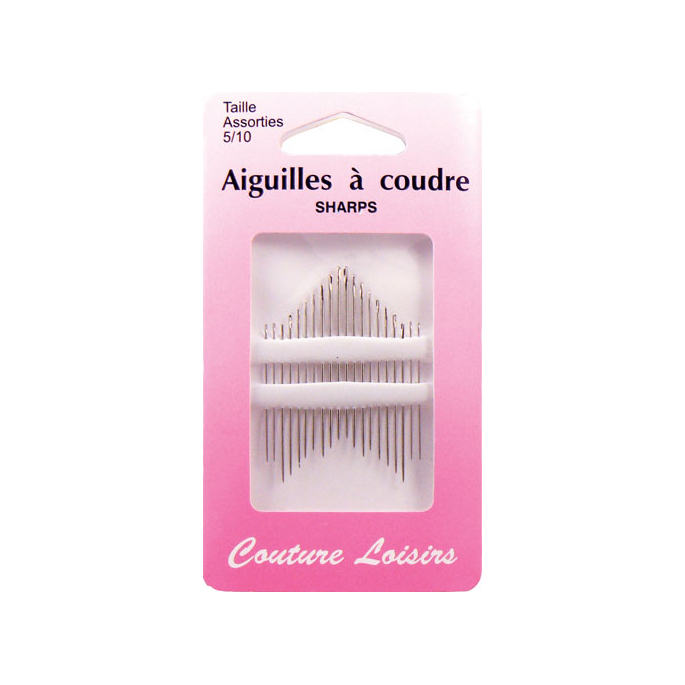 Sharp Needles Size 5-10 (x20)