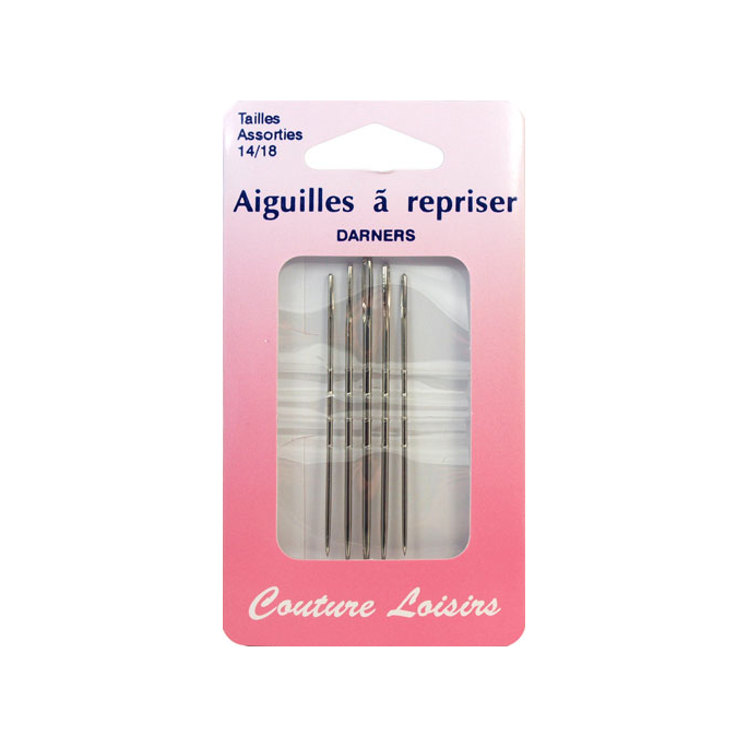 Darners Needles Size 14-18 (x5)