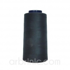Polyester Serger and sewing Thread Cone (2743m) Charcoal Grey
