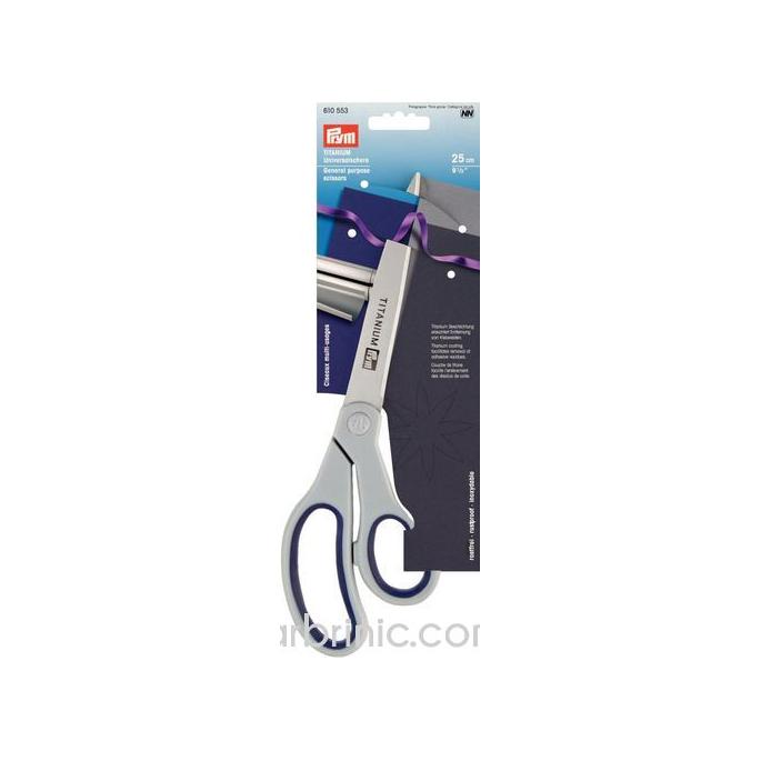 General Purpose Scissors Titanium 25cm PRYM
