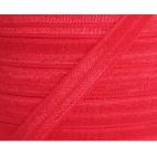 Biais élastique lingerie Oekotex 15mm rouge (bobine 25m)