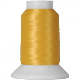 Cône Fil Mousse Wooly Nylon Jaune Or (1000m)