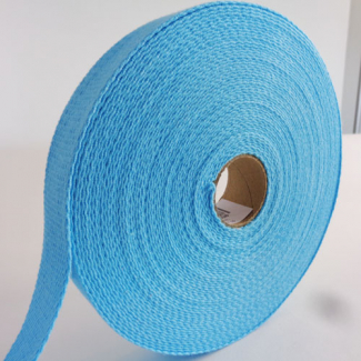 Cotton Webbing 30mm Lagon (15m roll)