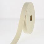 Sangle coton 23mm Ecru (bobine 15m)