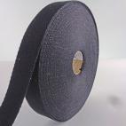 Sangle coton 23mm Noir (bobine 15m