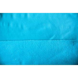 PUL micropolaire Turquoise laize 130cm (par 10cm)
