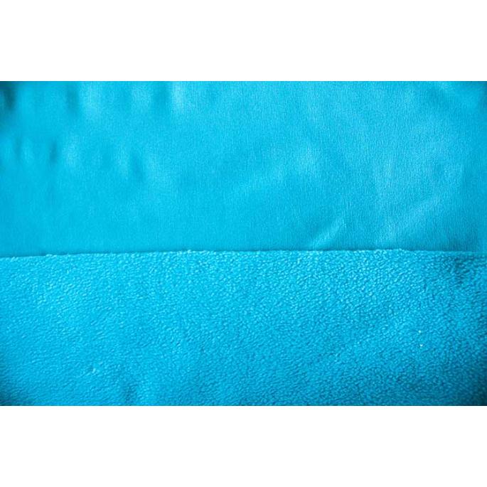 PUL microfleece Turquoise width 130cm (per 10cm)