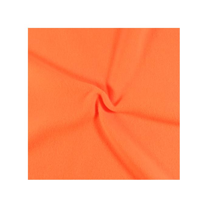 Micro Polaire Oekotex Orange clair