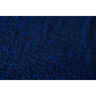 Cotton Terry Oekotex Width 160cm Navy (per meter)
