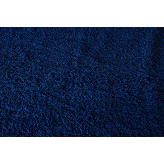 Eponge de coton Oekotex Laize 160cm Bleu nuit (au mètre)