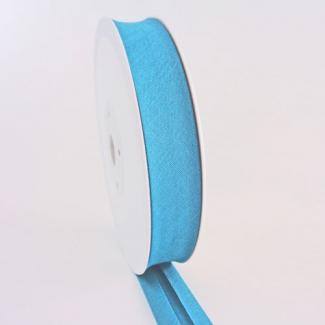 Single Fold Bias Binding 20mm Turquoise (by meter)