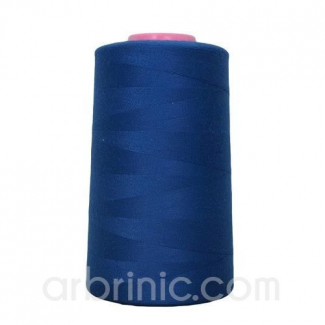 Polyester Serger and sewing Thread Cone (4573m) Royal Blue