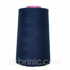 Polyester Serger and sewing Thread Cone (4573m) Navy Blue