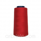 Polyester Serger and sewing Thread Cone (2743m) Red
