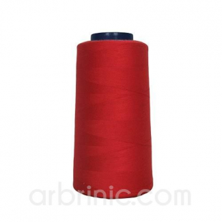 Cône fil polyester Rouge (2743m)