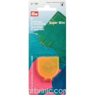 Spare Blades for PRYM rotary cutters 18mm (x2)