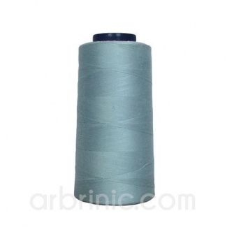 Polyester Serger and sewing Thread Cone (2743m) Grey Blue